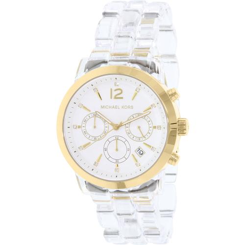 e302e3ffd227 ... Clear UPC 796483175112 product image for Michael Kors Women s MK6200  Gold Plastic Quartz Watch