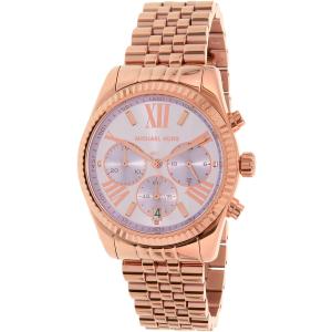Michael Kors Women's MK6207 Rose Gold Stainless-Steel Quartz Watch