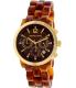 Michael Kors Women's Audrina MK6235 Brown Plastic Quartz Watch - Main Image Swatch