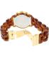 Michael Kors Women's Audrina MK6235 Brown Plastic Quartz Watch - Back Image Swatch