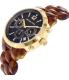 Michael Kors Women's Audrina MK6235 Brown Plastic Quartz Watch - Side Image Swatch