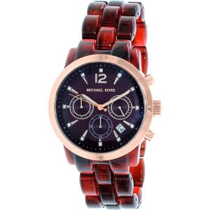Michael Kors Women's Audrina MK6237 Red Plastic Quartz Watch