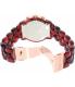 Michael Kors Women's Audrina MK6237 Red Plastic Quartz Watch - Back Image Swatch