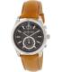 Michael Kors Men's Aiden MK8416 Brown Leather Swiss Quartz Watch - Main Image Swatch