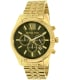 Michael Kors Men's MK8446 Gold Stainless-Steel Quartz Watch - Main Image Swatch