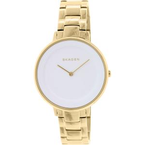 Skagen Women's Ditte SKW2330 Gold Stainless-Steel Quartz Watch