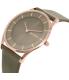 Skagen Women's SKW2346 Grey Leather Quartz Watch - Side Image Swatch