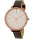 Skagen Women's SKW2356 Rose Gold Leather Quartz Watch - Main Image Swatch