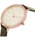Skagen Women's SKW2356 Rose Gold Leather Quartz Watch - Side Image Swatch