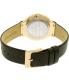 Skagen Women's SKW2370 Gold Leather Quartz Watch - Back Image Swatch