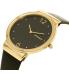 Skagen Women's SKW2370 Gold Leather Quartz Watch - Side Image Swatch