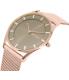Skagen Women's SKW2378 Rose Gold Stainless-Steel Quartz Watch - Side Image Swatch