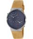 Skagen Men's SKW6190 Beige Leather Quartz Watch - Main Image Swatch