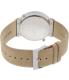 Skagen Men's SKW6190 Beige Leather Quartz Watch - Back Image Swatch
