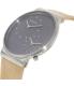 Skagen Men's SKW6190 Beige Leather Quartz Watch - Side Image Swatch