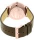 Skagen Men's SKW6213 Rose Gold Leather Quartz Watch - Back Image Swatch
