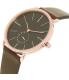 Skagen Men's SKW6213 Rose Gold Leather Quartz Watch - Side Image Swatch