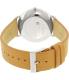 Skagen Men's SKW6215 Silver Leather Quartz Watch - Back Image Swatch