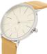 Skagen Men's SKW6215 Silver Leather Quartz Watch - Side Image Swatch