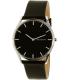 Skagen Men's SKW6220 Black Leather Quartz Watch - Main Image Swatch