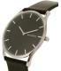 Skagen Men's SKW6220 Black Leather Quartz Watch - Side Image Swatch
