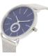 Skagen Men's Hagen SKW6230 Silver Stainless-Steel Quartz Watch - Side Image Swatch