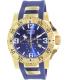 Invicta Men's Excursion 6266 Blue Rubber Swiss Quartz Watch - Main Image Swatch