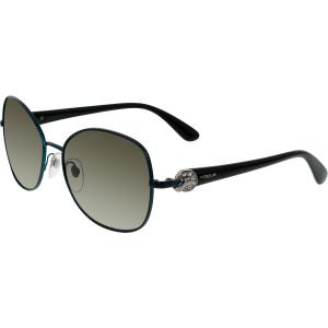 Vogue Women's  VO3948SB-958S8E-58 Blue Round Sunglasses