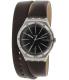 Swatch Men's Irony YWS409 Brown Leather Swiss Quartz Watch - Main Image Swatch