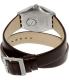 Swatch Men's Irony YWS409 Brown Leather Swiss Quartz Watch - Back Image Swatch
