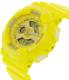 Casio Women's Baby-G BA110BC-9A Yellow Resin Quartz Watch - Side Image Swatch