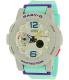 Casio Women's Baby-G BGA180-3B Grey Resin Quartz Watch - Main Image Swatch