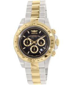Invicta Men's Speedway 18393 Gold Stainless-Steel Quartz Watch