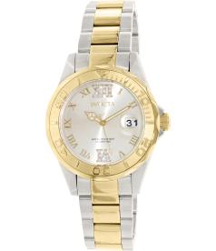 Invicta Women's Pro Diver 14351 Gold Stainless-Steel Swiss Quartz Watch