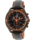 Citizen Men's Eco-Drive AT2185-06E Black Leather Eco-Drive Watch - Main Image Swatch