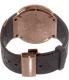 Gucci Men's I-Gucci YA114209 Rose Gold Rubber Swiss Quartz Watch - Back Image Swatch