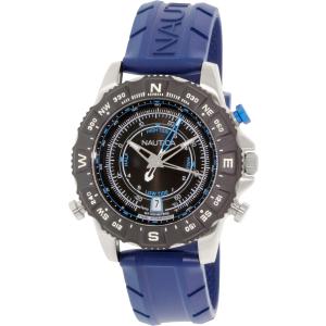Nautica Men's NAD20005G Blue Rubber Analog Quartz Watch