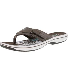 Clarks Women's Breeze Sea Ankle-High Synthetic Sandal