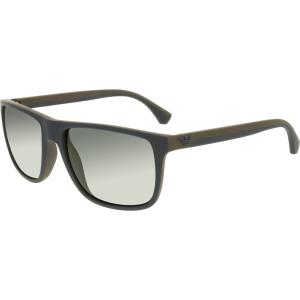 Emporio Armani Men's  EA4033-523087-56 Blue Square Sunglasses