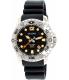 Bulova Men's Sea King 96B228 Black Silicone Quartz Watch - Main Image Swatch