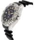 Bulova Men's Sea King 96B228 Black Silicone Quartz Watch - Side Image Swatch