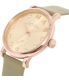 Marc by Marc Jacobs Women's MBM1400 Rose Gold Leather Swiss Quartz Watch - Side Image Swatch