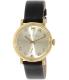 Marc by Marc Jacobs Women's MBM1399 Black Leather Swiss Quartz Watch - Main Image Swatch