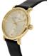 Marc by Marc Jacobs Women's MBM1399 Black Leather Swiss Quartz Watch - Side Image Swatch