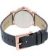 Dkny Women's Soho NY2341 Rose Gold Leather Quartz Watch - Back Image Swatch