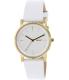Dkny Women's Soho NY2340 White Leather Quartz Watch - Main Image Swatch