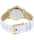 Dkny Women's Soho NY2340 White Leather Quartz Watch - Back Image Swatch