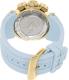 Invicta Women's Subaqua 17237 Blue Rubber Swiss Quartz Watch - Back Image Swatch