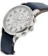 Timex Men's Weekender TW2P62100 Silver Leather Analog Quartz Watch - Side Image Swatch