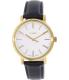 Timex Women's Originals TW2P63400 Gold Leather Analog Quartz Watch - Main Image Swatch